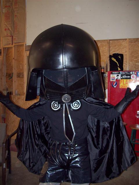 Never go over my helmet!